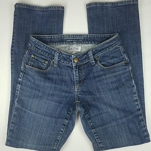 Banana Republic Urban Boot Cut 5 Pocket Blue Jeans